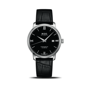 Mido Herrenuhr Baroncelli III Chronometer 80 Gent M027.408.16.058.00