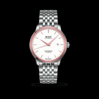 Mido Herrenuhr Baroncelli III Chronometer 80 Gent M027.408.41.011.00