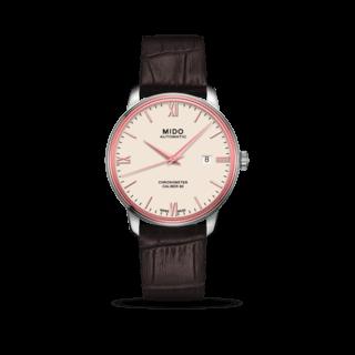 Mido Herrenuhr Baroncelli III Chronometer 80 Gent M027.408.46.268.00