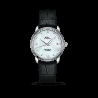 Mido Damenuhr Baroncelli III Chronometer 80 Lady M027.208.16.106.00