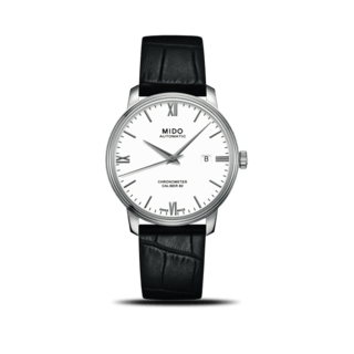 Mido Herrenuhr Baroncelli III Chronometer Gent M027.408.16.018.00
