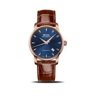 Mido Herrenuhr Midnight Blue M8600.3.15.8