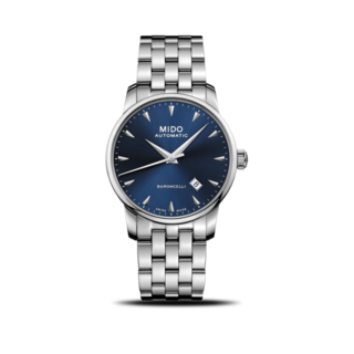 Mido Herrenuhr Midnight Blue M8600.4.15.1