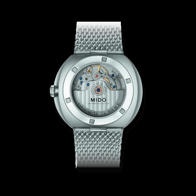Herrenuhr Mido Commander Icône Gent Chronometer mit anthrazitfarbenem Zifferblatt und Edelstahlarmband bei Brogle