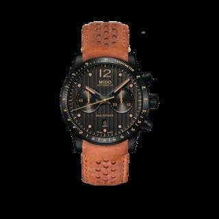 Mido Herrenuhr Multifort Chronograph Aluminium Bezel M025.627.36.061.10