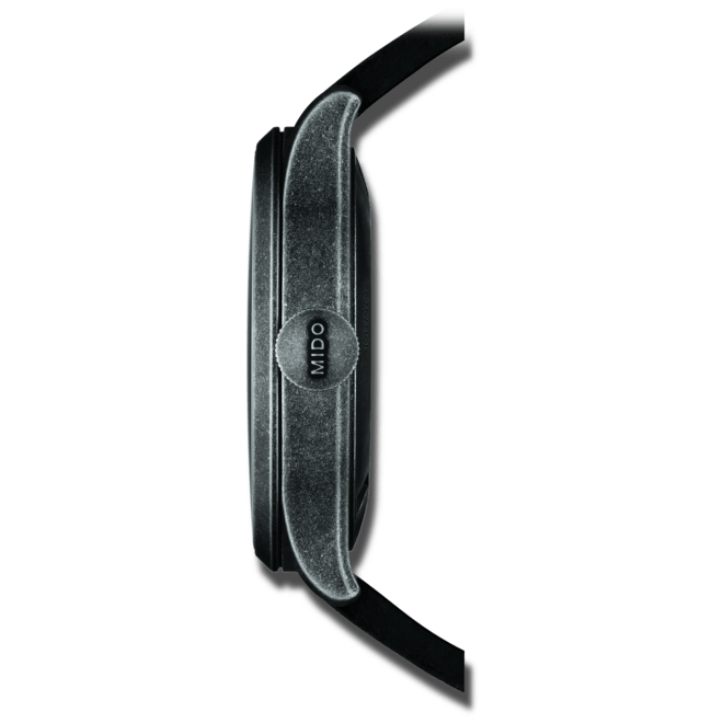 Herrenuhr Mido Multifort Escape mit schwarzem Zifferblatt und Kalbsleder-Armband bei Brogle