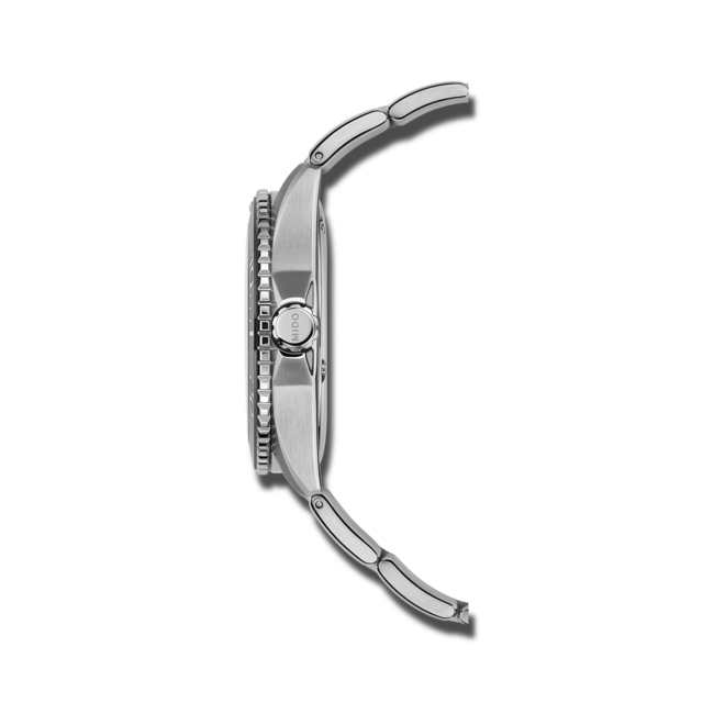 Herrenuhr Mido Ocean Star 200C mit grauem Zifferblatt und Edelstahlarmband bei Brogle