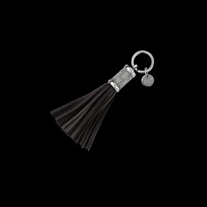 Schlüsselanhänger Montblanc Schlüsselanhänger aus PVD-Beschichtung auf Edelstahl und Kalbsleder