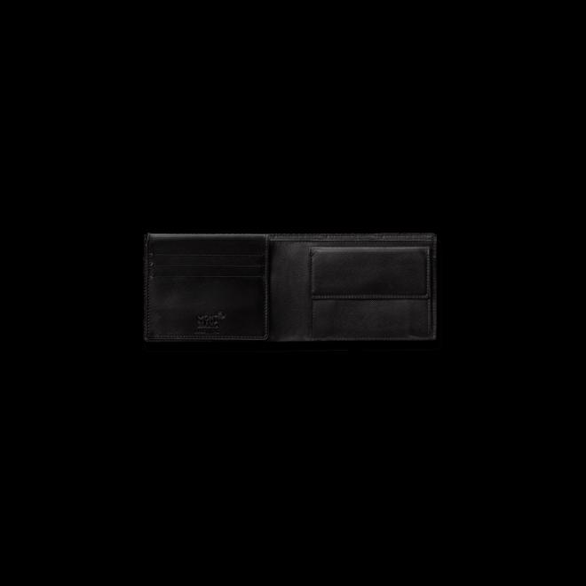 Geldbeutel Montblanc 10 CC aus Kalbsleder und Synthetik