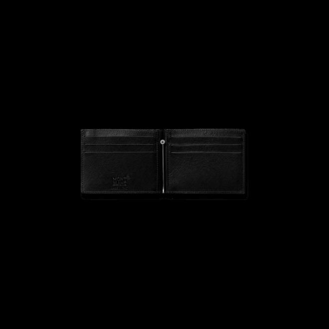 Geldbeutel Montblanc 6 cc aus Kalbsleder und Synthetik