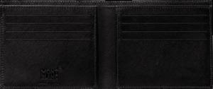 Geldbeutel Montblanc 8cc aus Kalbsleder und Synthetik