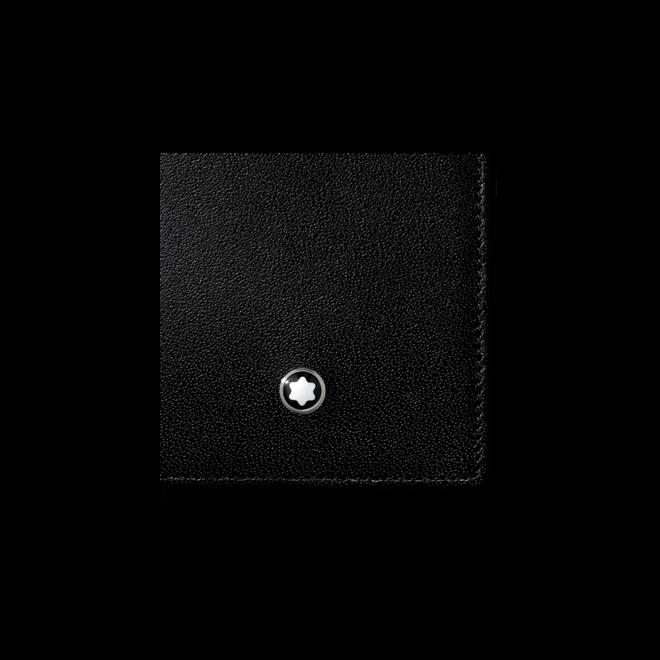 Geldbeutel Montblanc Meisterstück Visitenkartenetui mit Fächern aus Rindsleder