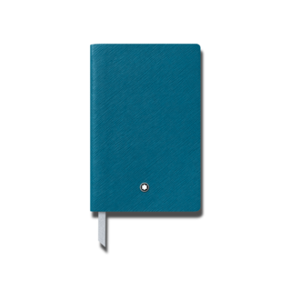 Montblanc Notizblock Fine Stationery Notebook #148 Petrol Blue, liniert 119489