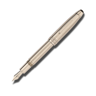 Montblanc Füllfederhalter Geometry Solitaire Champagne Gold LeGrand 118100