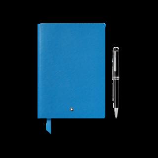 Montblanc Set Geschenkset aus Meisterstück Classique Platinum Kugelschreiber und Notebook #146 124172