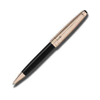Montblanc Kugelschreiber Meisterstück Doué Geometry Champagne Gold-Coated Classique 118095