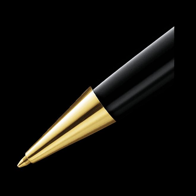 Kugelschreiber Montblanc Meisterstück Gold-Coated LeGrand aus Edelharz bei Brogle