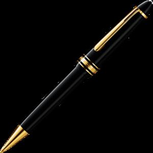 Kugelschreiber Montblanc Meisterstück Gold-Coated LeGrand aus Edelharz