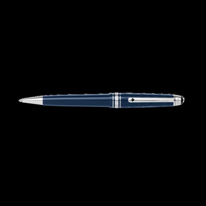 Kugelschreiber Montblanc Meisterstück In 80 Tagen um die Welt aus Edelstahl und Edelharz bei Brogle