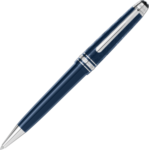 Kugelschreiber Montblanc Meisterstück In 80 Tagen um die Welt aus Edelstahl und Edelharz