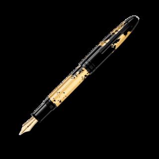 Montblanc Füllfederhalter Meisterstück Solitaire Calligraphy Gold Feder 119700