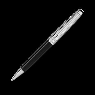 Montblanc Kugelschreiber Solitaire Doué Geometric Dimension Platinum Classique 118080