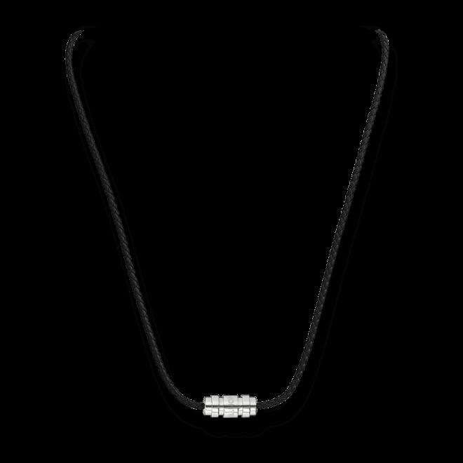 Halskette mit Anhänger Montblanc 3-Ringe-Motiv aus 925 Sterlingsilber