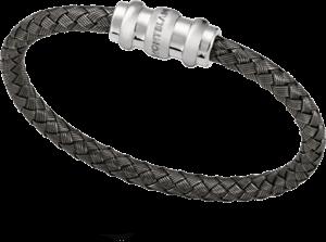 Armreif Montblanc Armband aus verwobenem Sterlingsilber aus 925 Sterlingsilber Größe M