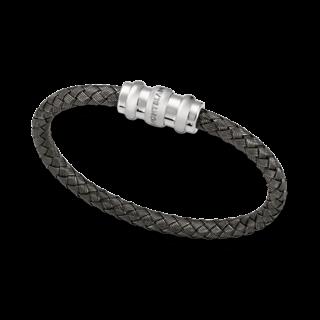 Montblanc Armreif Armband aus verwobenem Sterlingsilber 101886