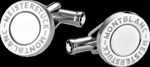 Manschettenknöpfe Montblanc Iconic Manschettenknöpfe aus Edelstahl