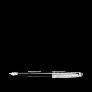 Montblanc Füllfederhalter Meisterstück Platinum-Coated Doué Classique Füllfederhalter Füllfederhalter 116079