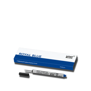 Montblanc Rollerball-Minen 1 Rollerball Capless System Mine (M) Royal Blue 124496