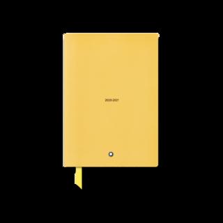 Montblanc Notizblock #146 18-Monate-Wochenkalender 20-21, Mustard Yellow 125873