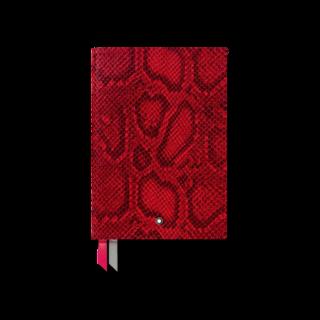 Montblanc Notizblock #146 Python Print, Cayenne Red 119519