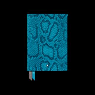 Montblanc Notizblock #146 Python Print, Hawaiian Blue 119645