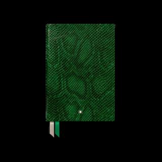 Montblanc Notizblock #146 Python Print, Peacock Green 119520