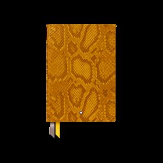 Montblanc Notizblock #146 Python Print, Saffron 119548