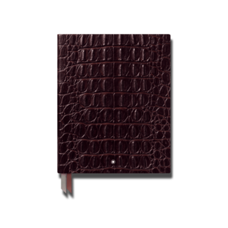 Montblanc Notizblock #149 Croco Print, Matt Brown 119517