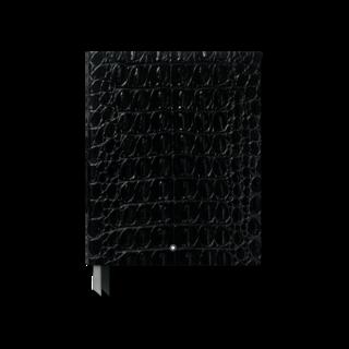 Montblanc Notizblock #149 Croco Print, Shiny Black 119516