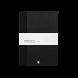 Montblanc Notizblock 2 Fine Stationery Notebooks #146 schmal, schwarz, liniert für Augmented Paper 116052