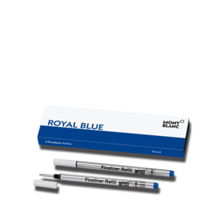 Montblanc Fineliner-Minen 2 Finelinerminen (B) Royal Blue 124500