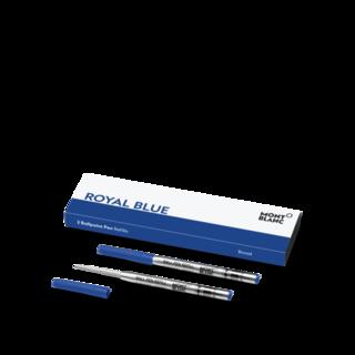 Montblanc Kugelschreiberminen 2 Kugelschreiberminen (B), Royal Blue 128215