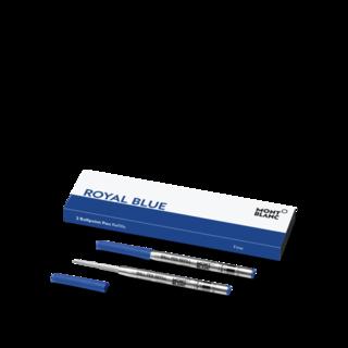 Montblanc Kugelschreiberminen 2 Kugelschreiberminen (F), Royal Blue 128213