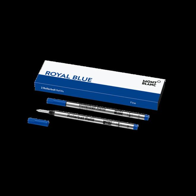 Rollerball-Minen Montblanc 2 Rollerballminen (F), Royal Blue bei Brogle