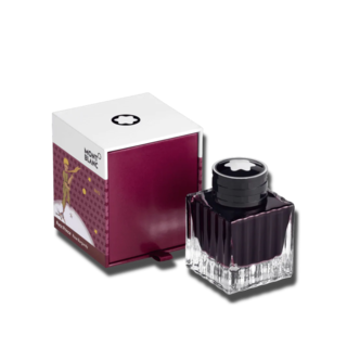 Montblanc Tintenfass 50 ml, Le Petit Prince and Planet, Burgundy 125926