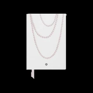 Montblanc Notizblock Fine Stationery Notebook #146 Ladies Edition Pearl in Weiß, liniert 118641