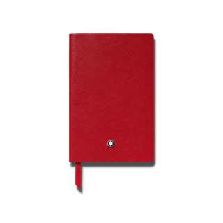 Montblanc Notizblock Fine Stationery Notebook #148 Red, liniert 118039