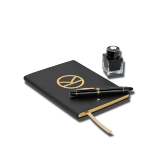 Montblanc Set Kingsman Special Edition aus einem 149 Meisterstück Füllfederhalter, ein Fine Stationery Notebook sowie ein Tintenfass 127417