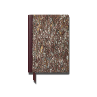 Montblanc Notizblock Notebook #146 Marble Effect Paper Brown 125916