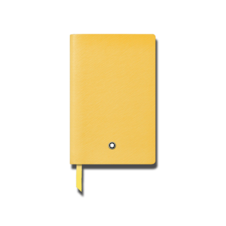 Montblanc Notizblock Notebook #148 Mustard Yellow 125883